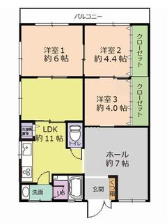 サンハイツ野芥301号    間取図.jpg