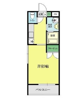 ラフィットヤマト1号室 間取図.jpg